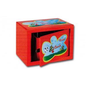 Εντοιχιζόμενο παιδικό χρηματοκιβώτιο μέ μουσική TECHNOMAX BMB